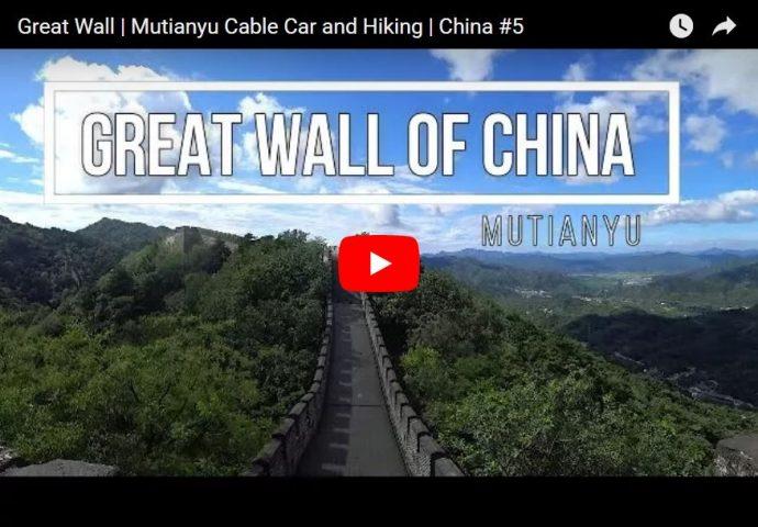 great wall mutianyu hiking