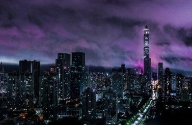 sky-timelapse shenzhen