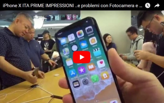 iphone x ita prime impressioni