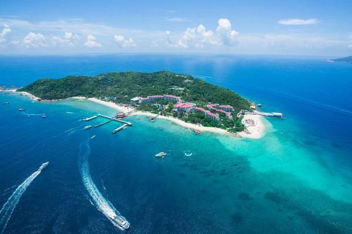Le Più belle Spiagge della Cina - Isola di Wuzhizhou