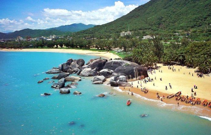 sanya cina spiaggia-Tianya-Haijiao
