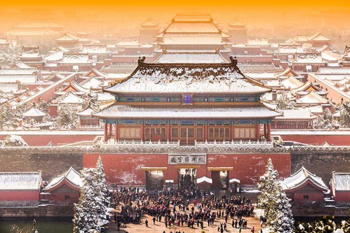 le 4 quattro antiche capitali della Cina Pechino beijing