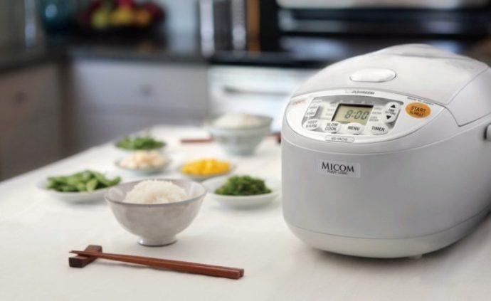 bollitore per il riso rice cooker