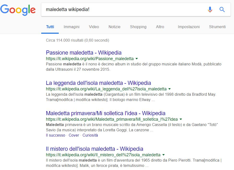 come superare wikipedia su google
