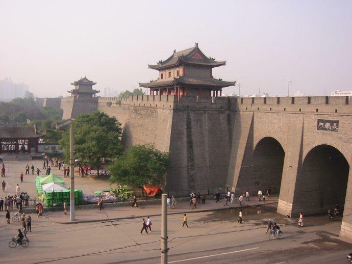 le 4 quattro antiche capitali della Cina xian