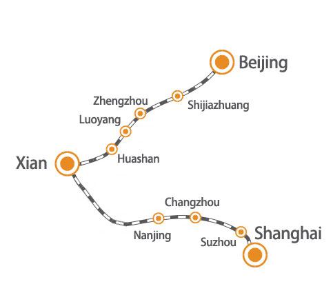 come arrivare a Xi'an da Pechino? treno o aereo?