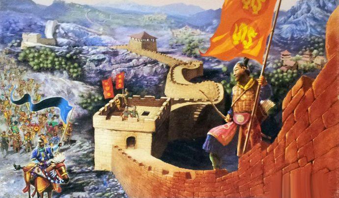 perché è stata costruita la muraglia cinese