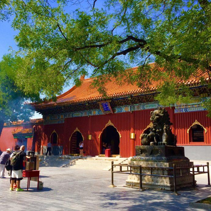 tempio dei lama cosa visitare a pechino 5 giorni