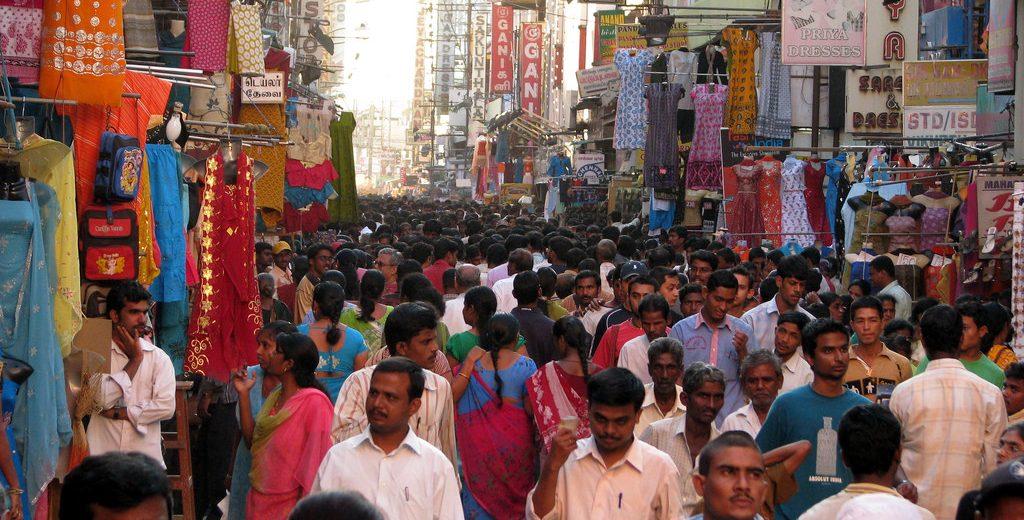 popolazione india 2018