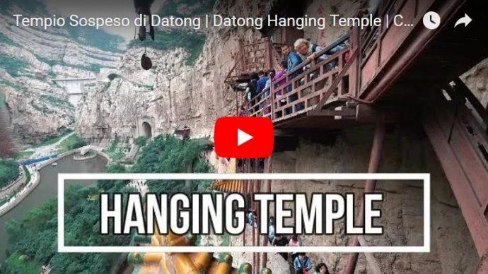 tempio sospeso di datong cina