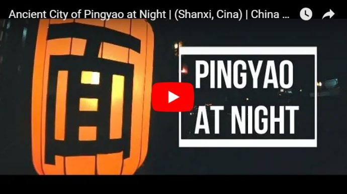 pingyao at night video