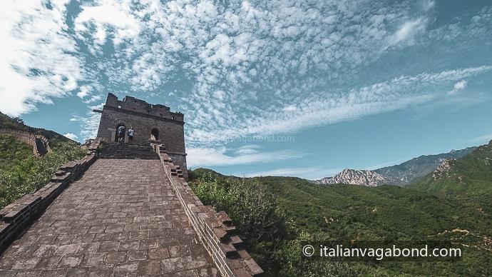 huanghauchen grande muraglia cinese quale sezione visitare