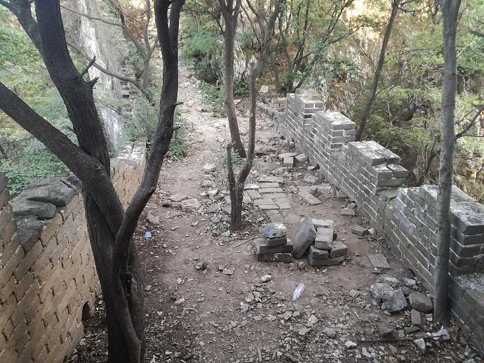 grande muraglia cinese quale visitare jiankou