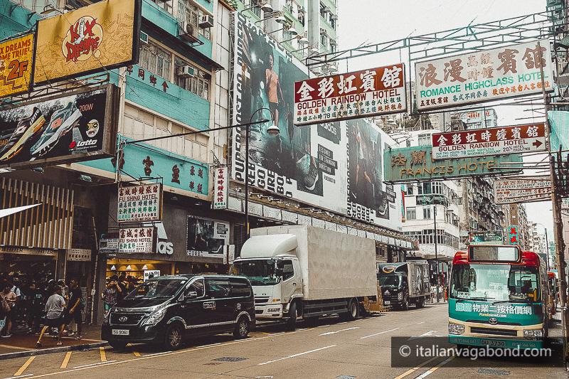 hong kong kowloon insegne neon