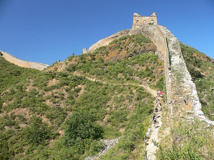 quale sezione della muraglia visitare jinshanling simatai