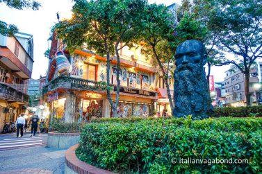 tamsui old street taiwan cosa fare