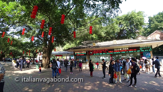 baiyun mountain guangzhou how to go